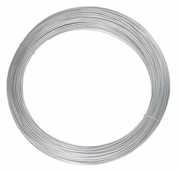 Strammetråd 4,0 mm Grå - RAL7030