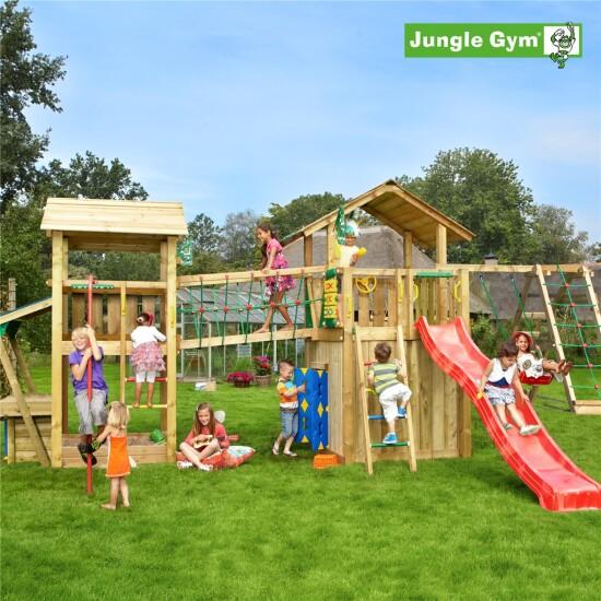 Legeunivers 4 komplet Jungle Gym inkl. rutschebane