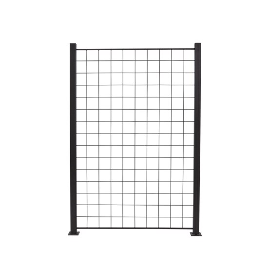 Espalier antracitgrå 150 x 100 cm til aluminium stolpe
