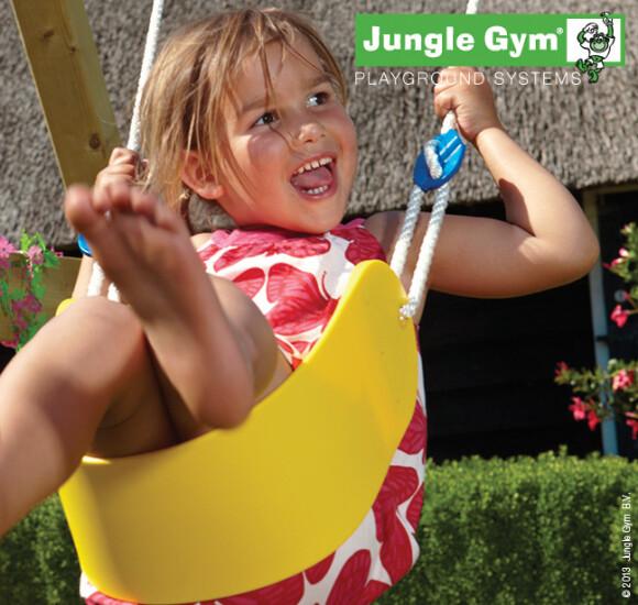 Jungle Gym Sling swing komplet kit, gul