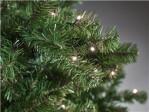 Kunstigt juletræ 210 x 138 cm, med lys