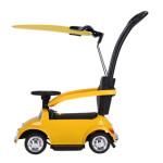 Elbil/gåbil Volkswagen licens Beetle NORDIC PLAY 6V med parasol