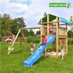 Legetårn komplet Jungle Gym Fort inkl. Swing module x'tra ekskl. rutschebane
