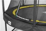 Trampolin Comfort Edition Ø396 cm, sort inkl. sikkerhedsnet