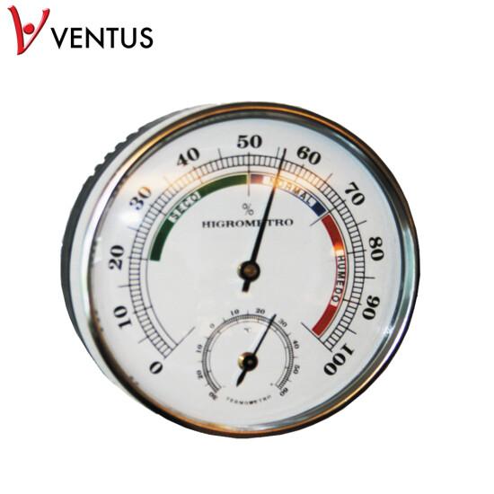 Termo-/hygrometer Ø85 x 25 mm WA085 VENTUS