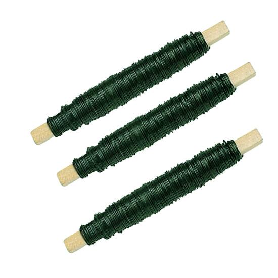 Vindseltråd grøn Ø0,55 mm