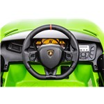 Elbil Lamborghini Aventador, 12V, limegrøn NORDIC PLAY Speed