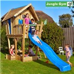 Jungle Gym Crazy Playhouse + tårn