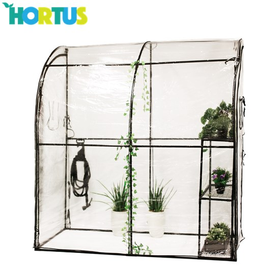 Vægdrivhus HORTUS plast 215 x 100 x 200 cm