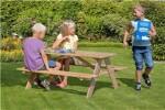 NORDIC PLAY Børne bord-/bænkesæt 20 mm, lærk