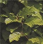 Insektnet plast 0,6 x 2,5 m, sort