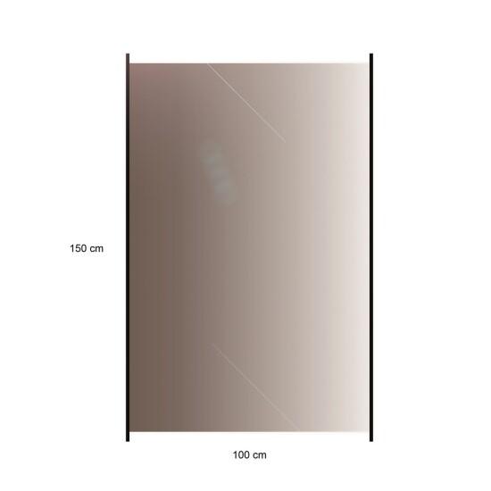 HORTUS Glashavehegn med aluskinne 150 x 100 cm