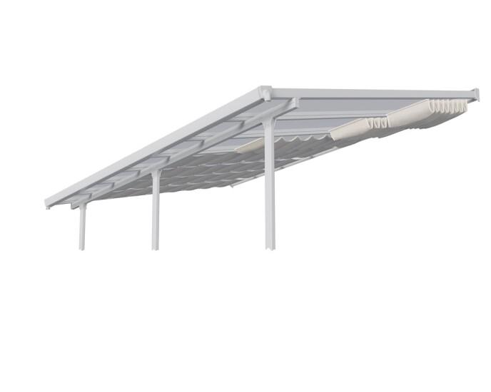 Gardiner til Feria terrasseoverdækning 16,1 m2 (3 x 5,46 m)
