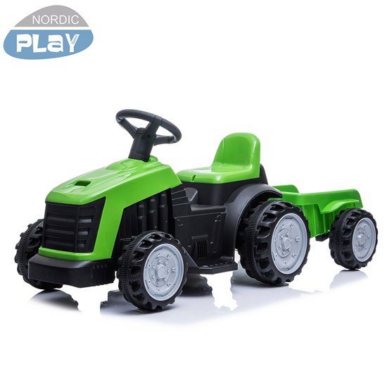 Traktor med anhænger NORDIC PLAY 6V