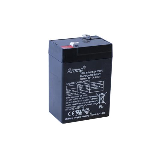 Batteri 6V4AH  til elbil