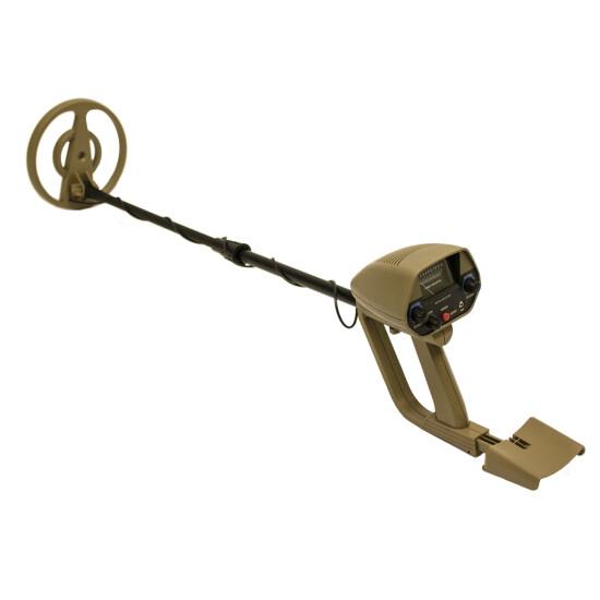 Metaldetektor øvet
