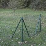 Extruderet maskinflet, grøn, 1250/60/2,3/20 M