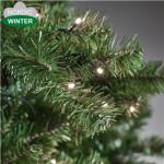 Kunstigt juletræ 300 x 188 cm med lys