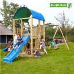 Legetårn komplet Jungle Gym Farm inkl. Swing module x'tra og rutschebane