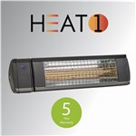 Terrassevarmer HEAT1 ECO high-line 2000W