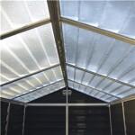 Skur PALRAM SKYLIGHT 2,8 m2 midnatsgrå