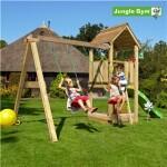 Legetårn komplet Jungle Gym Club inkl. Swing module x'tra og rutschebane