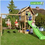 Playhouse tårn komplet Jungle Gym Crazy inkl. Swing module x'tra ekskl. rutschebane