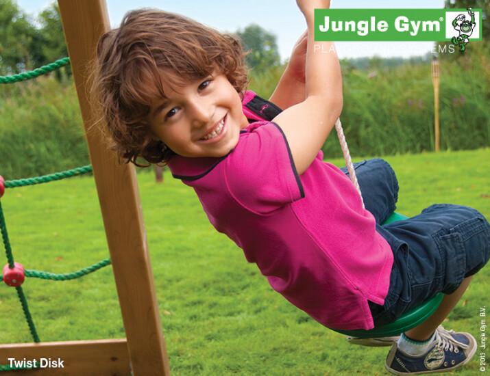 Jungle Gym Twist disk komplet kit, grøn