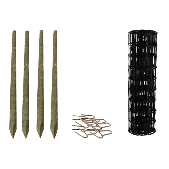 Havehegnspakke sort, 5 x 10 cm 100 meter