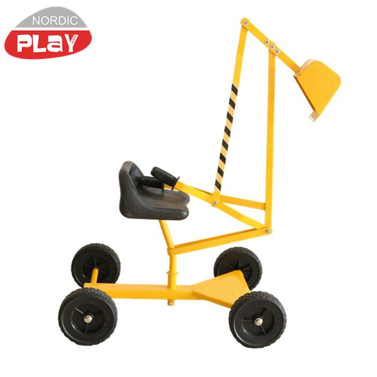 Gravemaskine til sandkasse på hjul NORDIC PLAY Active