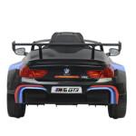 Elbil BMW M6GT3 licens NORDIC PLAY 12V sort