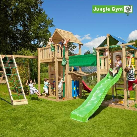 Legeunivers 2 komplet Jungle Gym inkl. rutschebane