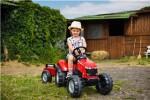 Traktor med vogn FALK Massey Ferguson