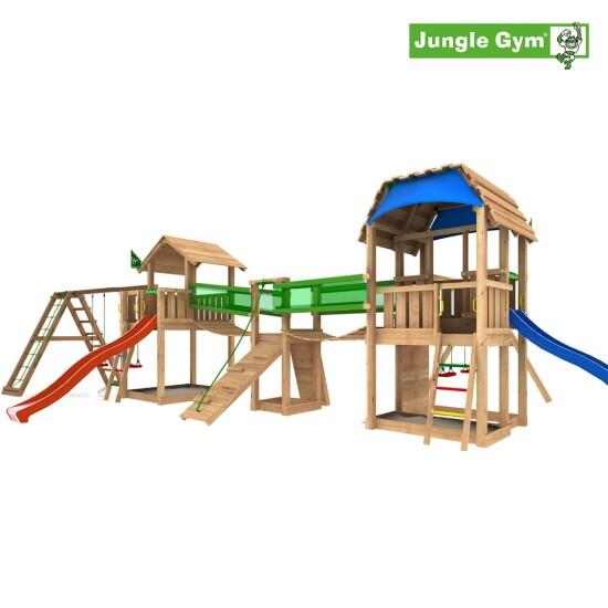 Legeunivers 8 komplet Jungle Gym inkl. rutschebane
