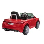 Elbil Audi TTS Roadster 12V med EVA-hjul NORDIC PLAY