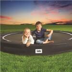 Trampolin Excellent Ground Sport Ø427 cm, sort