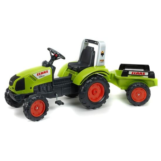 Traktor med vogn FALK Claas