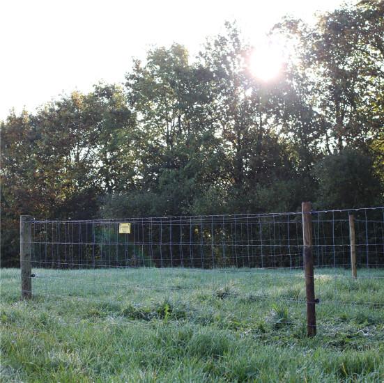 Fårehegnspakke 100 meter, stålgærde 90 cm og 2 rk. med galv. 2 mm tråde