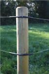 Kreaturhegnspakke 200 meter med 2 galv. 2 mm tråde inkl. el-apparat