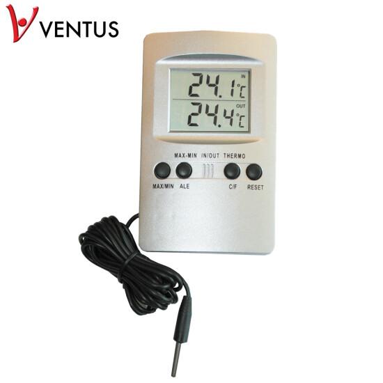 Digitalt inde-/udetermometer WA110 VENTUS