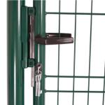 Låge for panelhegn 103x118 cm, grøn