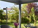 Terrassevarmer HORTUS 1500W gulvmodel