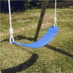 Blød gynge NORDIC PLAY med reb, blå