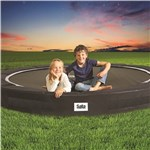 Trampolin Excellent Ground Sport Ø366 cm, sort
