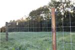 Fårehegnspakke 200 meter, stålgærde 90 cm og 2 rk. med galv. 2 mm tråde inkl. el-apparat