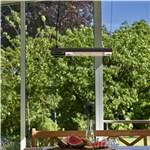 Terrassevarmer HORTUS 1500W væghængt