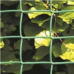 Havehegn plast, maske 4,4x4,4 cm, 100 cm x 2,5 m, grøn