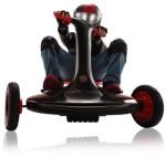 Turnado Drift Racer svart/rød 24V ROLLPLAY
