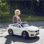 Elbil BMW GT 12V med gummihjul NORDIC PLAY