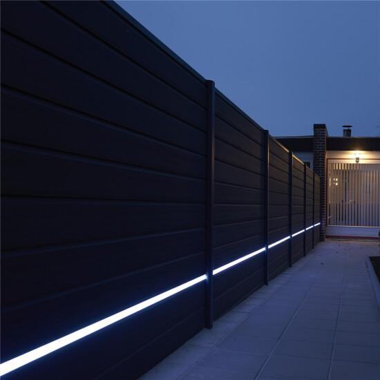Kirkedal Alu Design LED skinne m/ PVC – Alu sort